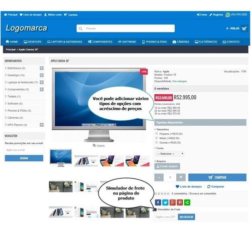 loja virtual responsiva ecommerce 2019 afiliados multiníveis