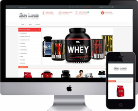 4e6077f93 Loja Virtual Suplementos Fitness + Hospedagem Grátis + Ssl