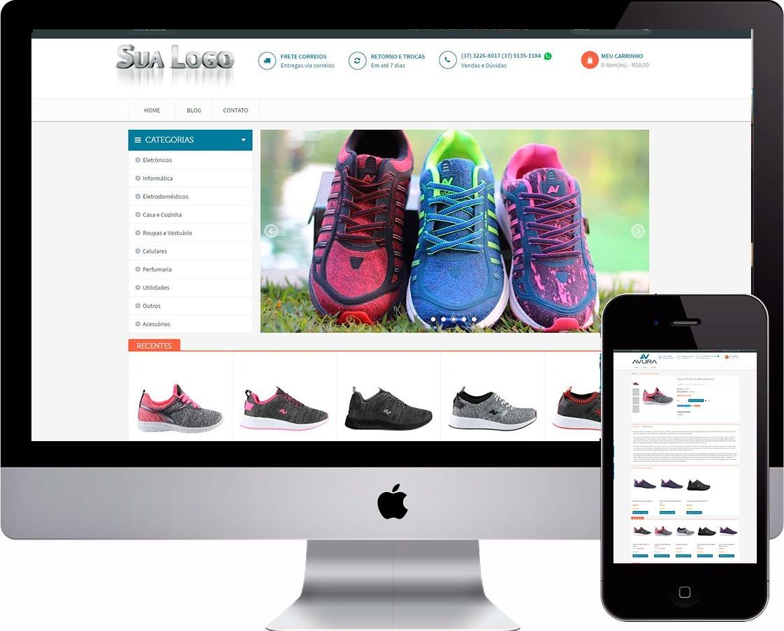 1ec16a983 loja virtual tênis esporte artigo esportivo site vendas. Carregando zoom.