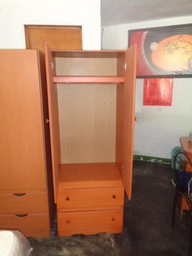 loker closet armario en mdf 2 gavetas