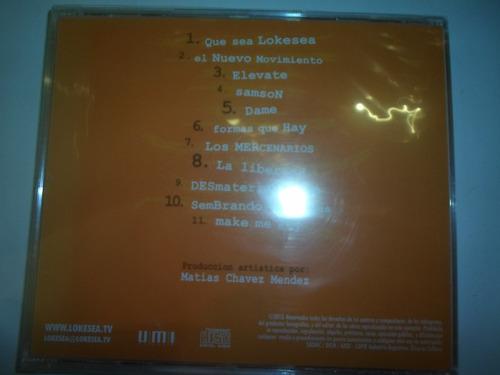 lokesea - 2015 - cd nuevo en bolsa original