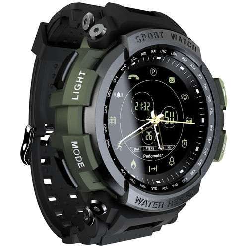 lokmat mk28 bt4.0 reloj inteligente impermeable hombres