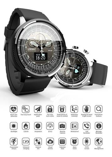 lokmat moka relógio inteligente esporte banda fitness tracke