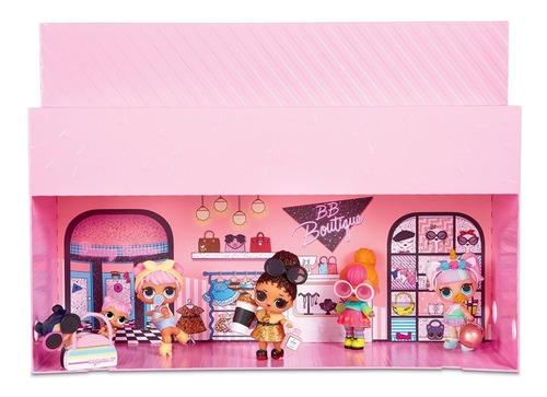 lol muñeca coleccionable store 3 en 1 pop up (2446)