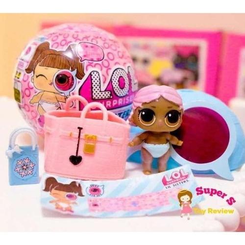 lol muñeca surprise little lil sister original l.o.l serie 4