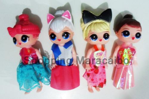 lol muñecas de 11 cm de goma * somos tienda fisica