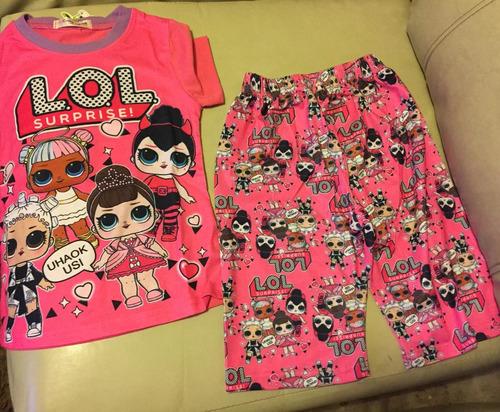 lol    pijama talla 4