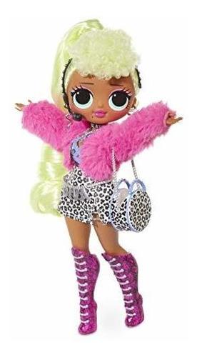 l.o.l. ¡sorpresa! dios mio. muñeca diva fashion con 20 sorpr