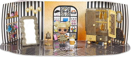 l.o.l. ¡sorpresa! muebles boutique con queen bee & 10+ sorpr