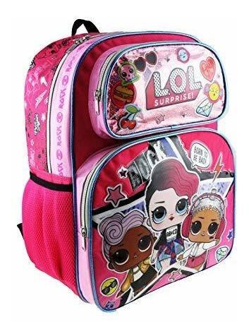lol ¡sorrenda mochila y bolsa de almuerzo aislada mas 6 uni
