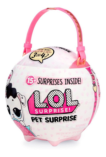 lol surprise biggie pet (transportadora de mascotas)