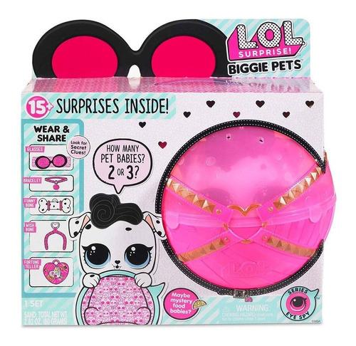 lol surprise biggie pets dollmation - cachorro