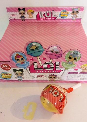 lol surprise chupeta pikmi pops muñeca + accesorios