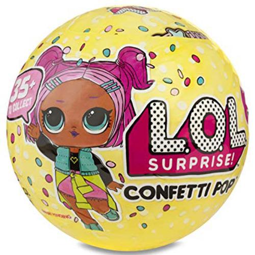 l.o.l surprise confetti pop serie 3  lol 9 capas original