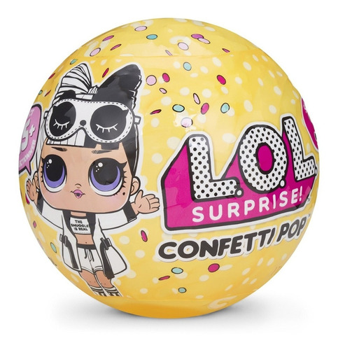 lol surprise confetti pop serie 3 muñeca babydoll