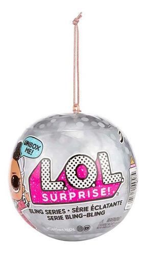 lol surprise dolls serie bling bling glit (edición especial)