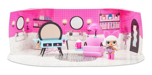 lol surprise furniture box diva muñeca bebe salón de belleza