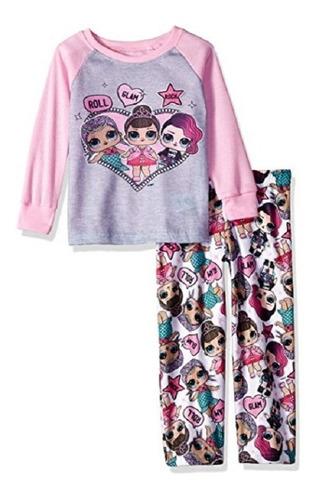 lol surprise girls pijama manga  larga  oferta¡¡
