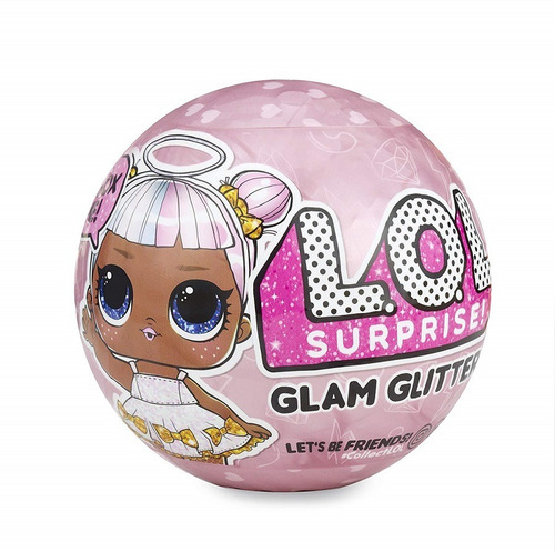 lol surprise! glam glitter muñeca + 7 sorpresas 2018