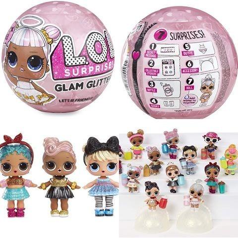 lol surprise glam glitter serie 4 grande original envio grat