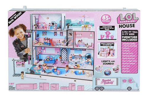 lol surprise - gran casa de muñeca - original