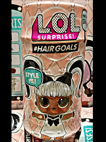 lol surprise hairgoals hair goals 15 sorpresas cabello real