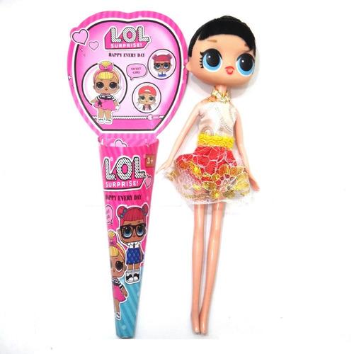 lol surprise juguete p/ niñas cotillon regalo sorpresa 22cm