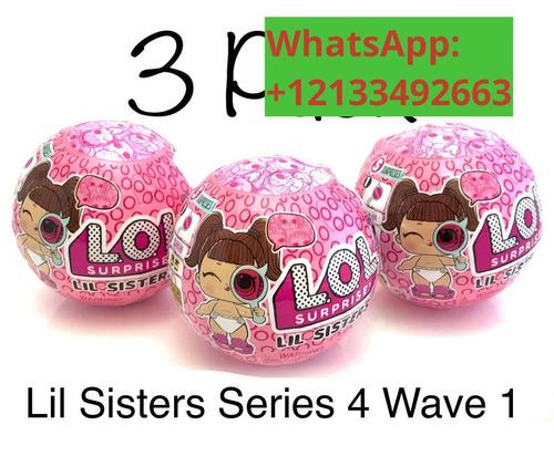 lol surprise lil sisters eye spy series 4 wave 1 - pack of 3