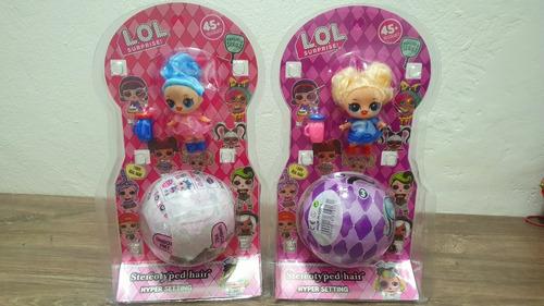lol surprise muñeca + esfera sorpresa  accesorios