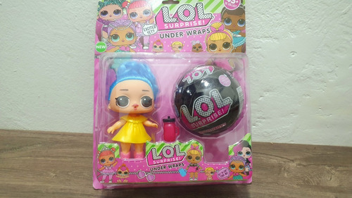 lol surprise muñeca + esfera sorpresa grande incluye acces