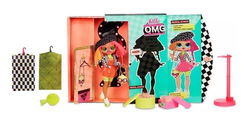 l.o.l surprise o.m.g. muñeca  neonlicious lol o.m.g original