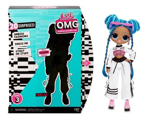 lol surprise omg serie 3 chillax fashion doll