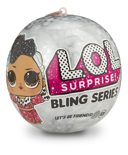 lol surprise serie bling 7 sorpresas envio full (2989)