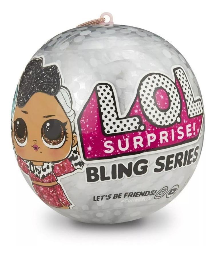 Lol Surprise Serie Bling Plateada Muñeca Lol Surprise