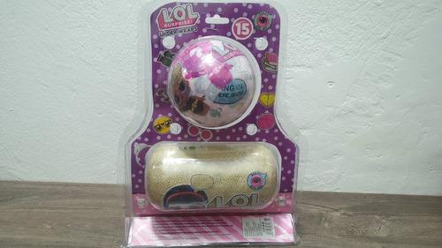 lol surprise serie china combo esfera + capsula sorpresa