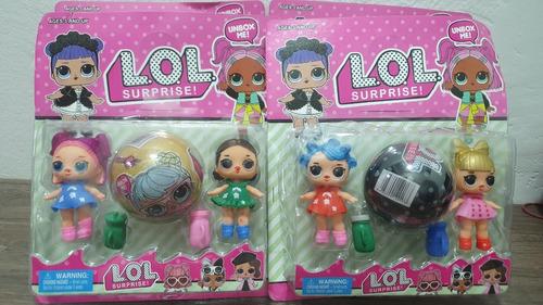 lol surprise serie china combo set x 3 muñecas