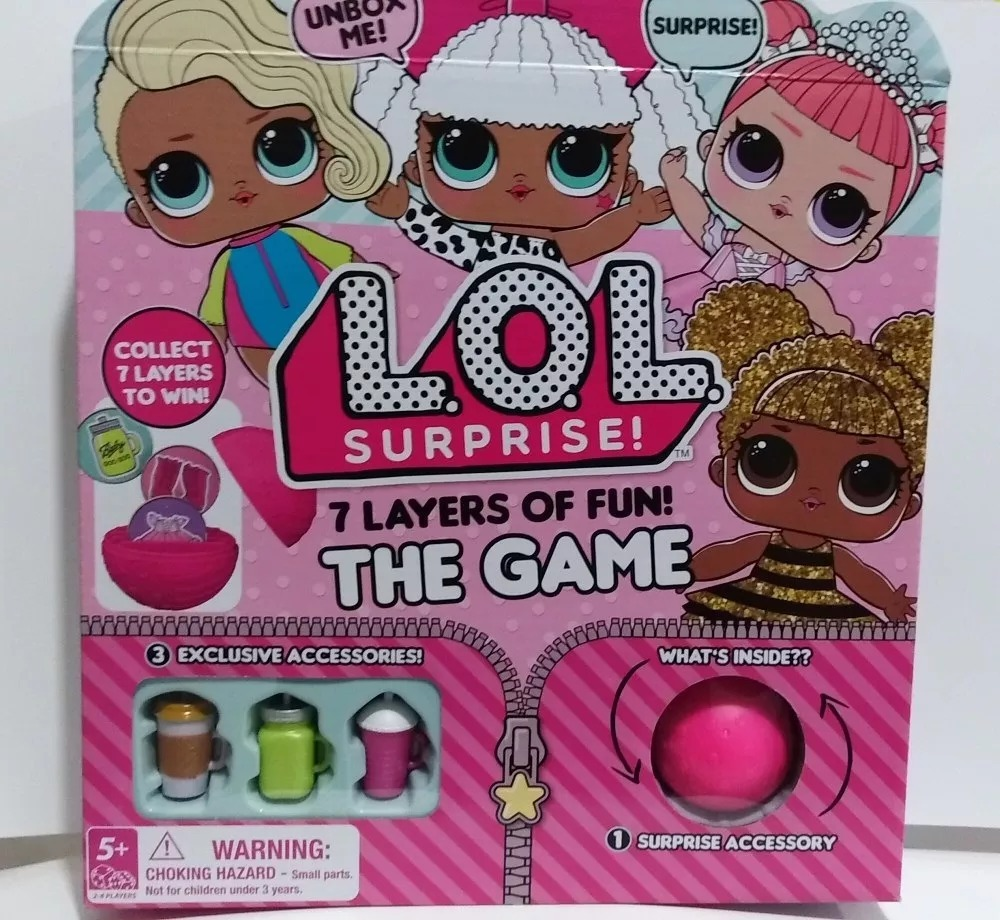Lol Surprise The Game Juego De Mesa 799 00 En Mercado Libre