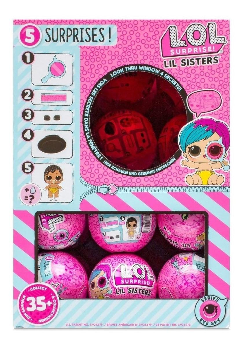 LOL Surprise Lil Sisters Eye Spy Series 4 Wave 1