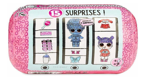 lol surprise - under wraps - series eye spy - original