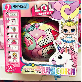 Lol Surprise Unicornio Muñeca + 6 Accesorios