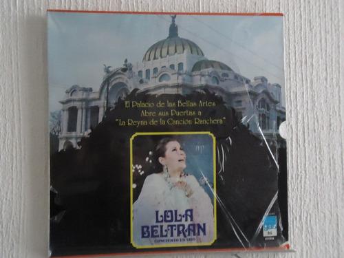 lola beltran - en vivo en el palacio de bellas artes