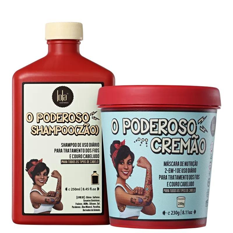 Resultado de imagem para Shampoo Lola Cosmetics O Poderoso Shampoozão