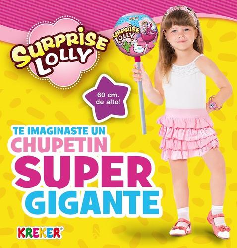 lolly sirprise chupetin con sorpresas juguetesanta claus