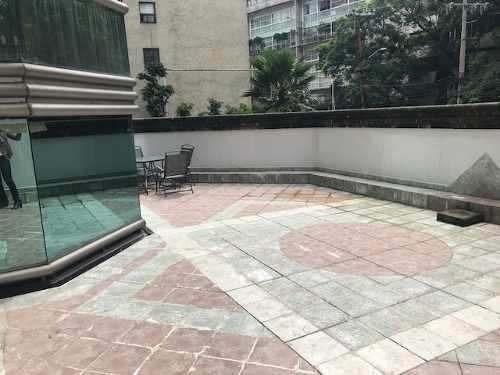 lomas de chapultepec, 250m2, más terraza privada,3 recamaras