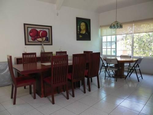 lomas de cocoyoc vendo casa con terreno grande de 4600m