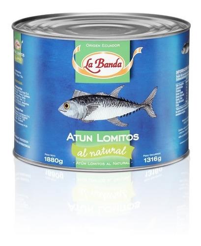 lomito de atún al natural la banda 1800g