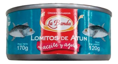 lomito de atun en aceite y agua la banda 170g grs lata