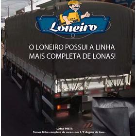 Lona 8x10 Mt Vinil Pvc Preta Impermeável Encerada Caminhão