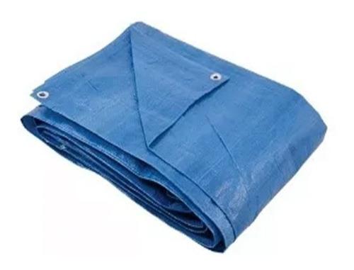 lona 8x7m azul 70gr 100 micras full
