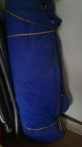 lona azul 10x12